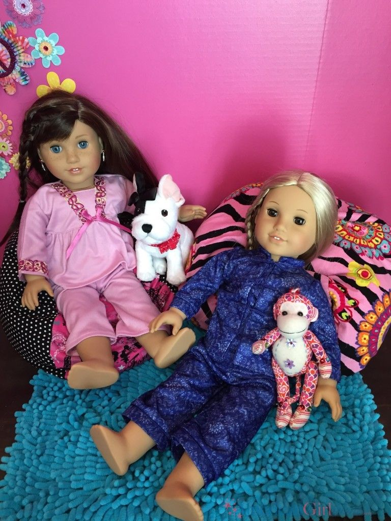 Learn How To Make An American Girl Doll Bean Bag Chair Our Dolls Love Their