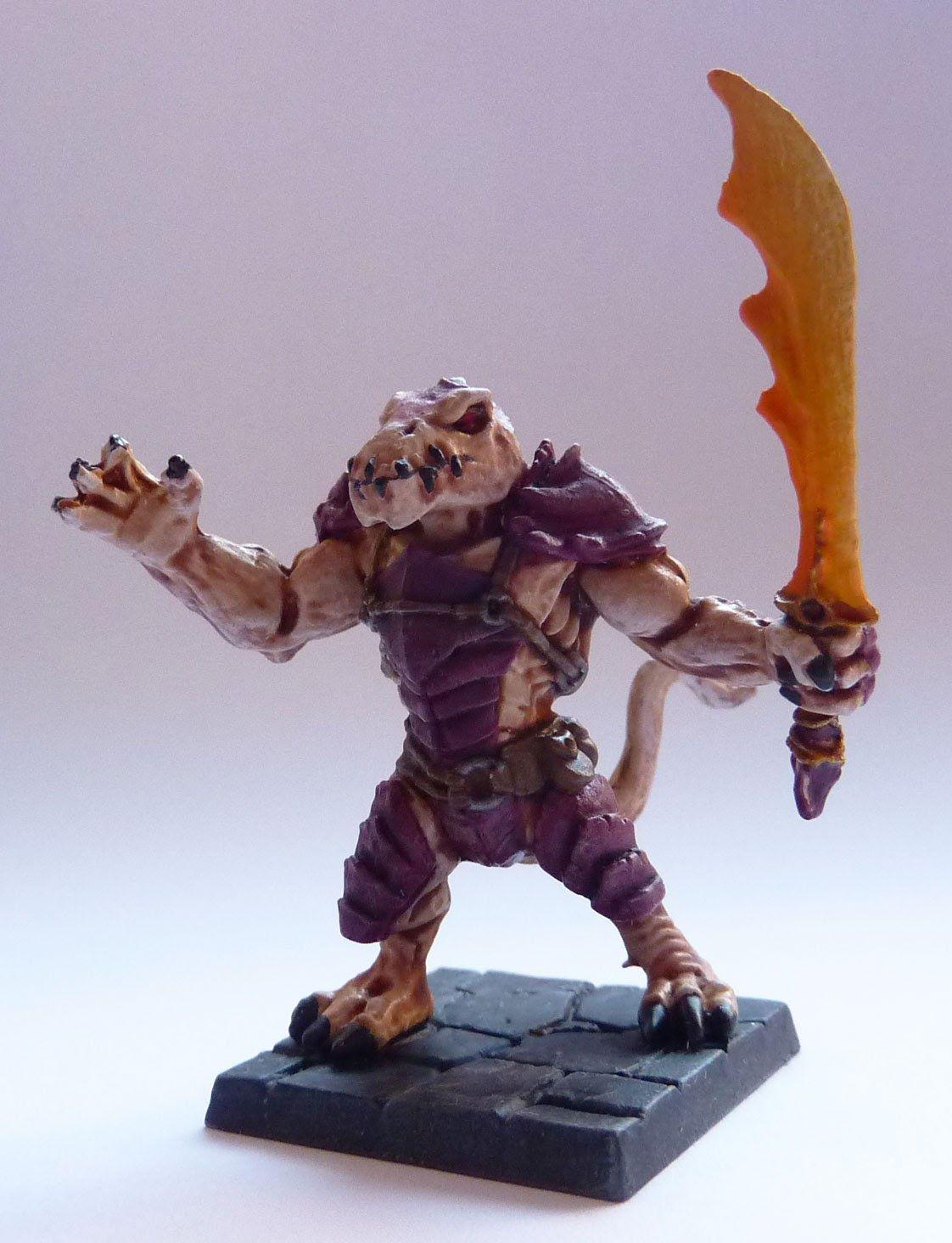 Hrrath - Salamander Fighter - Warlord of Galahir expansion