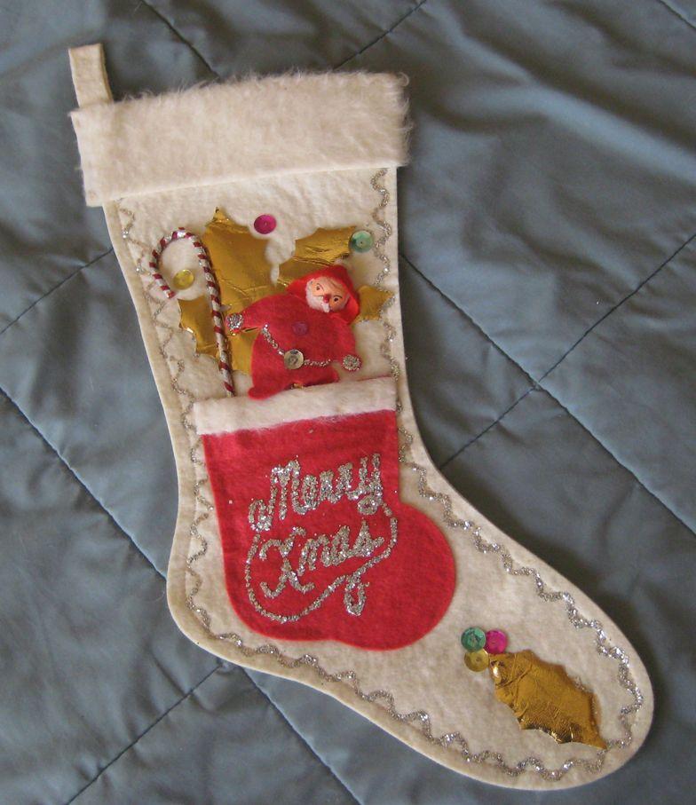 Decorative Christmas Stocking Christmas Stockings Diy Vintage