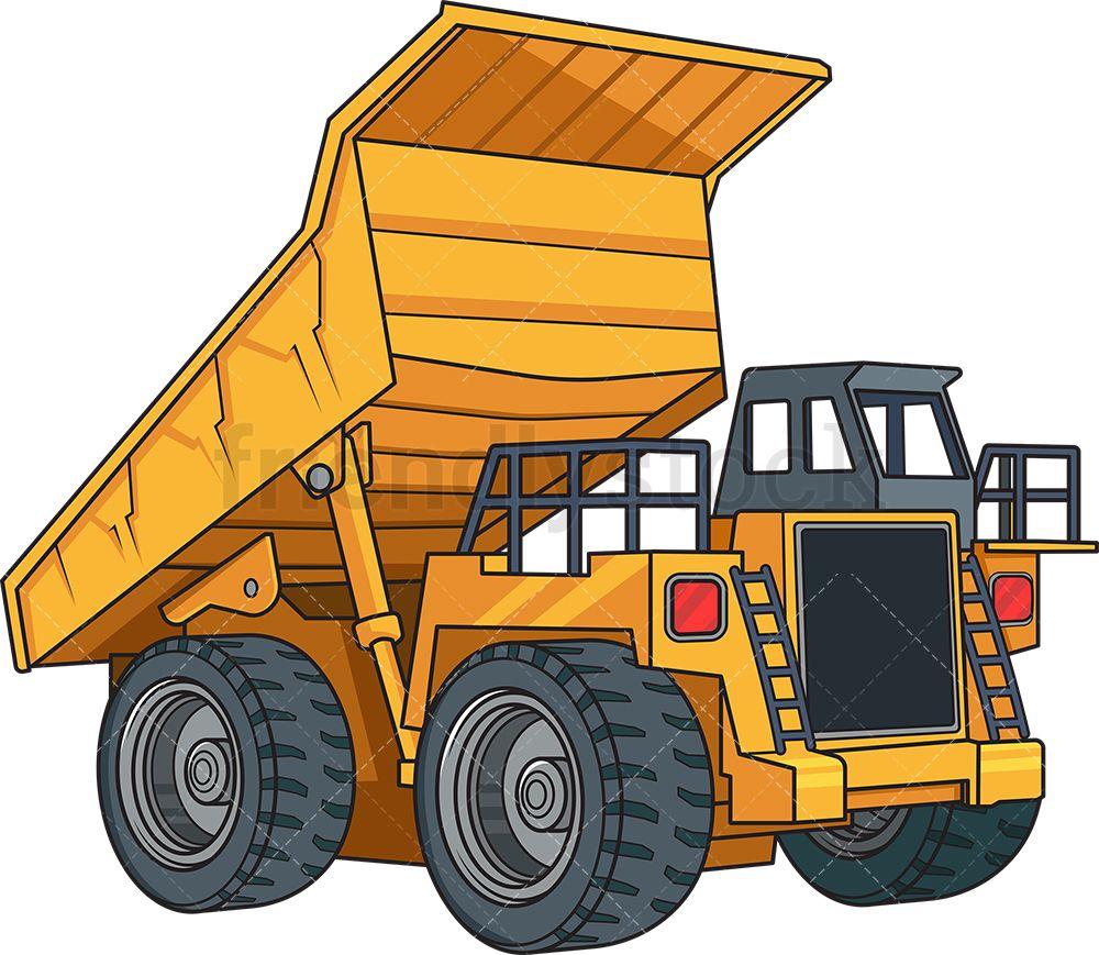 Realistic Dump Truck Dengan Gambar Mobil