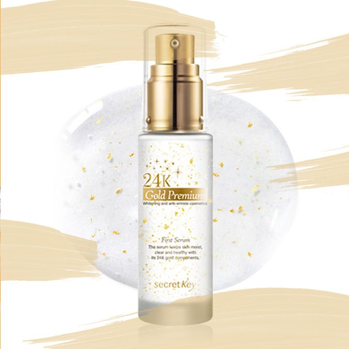 Is 24k Gold The Secret To Glowing Skin Influensters Are Saying This Gold Infused Serum Works Essential Oil Anti Aging Anti Aging Essential Sensitive Skin Care