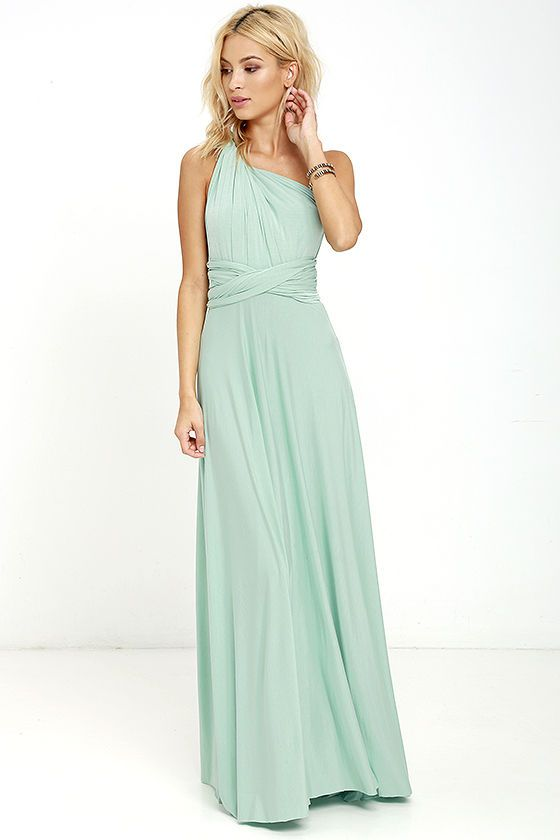6610c5164ee Tricks of the Trade Light Sage Maxi Dress in 2019