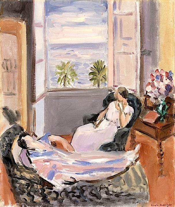 Confidence, 1922 (oil on canvas), Matisse, Henri (1869-1954)
