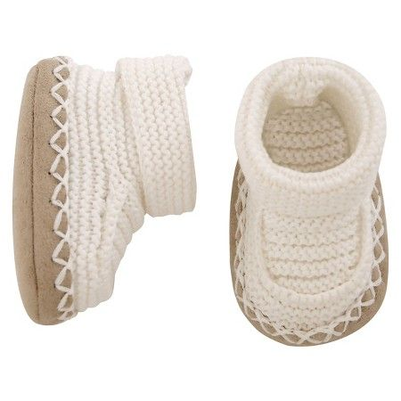 fad6d5993 Just One You™Made by Carter's® Baby Bootie - Oatmeal NB   Just One ...