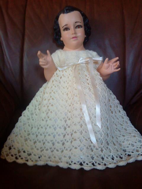 Crochet Vestido Niño Dios Niño Dios Vestido Trajes De