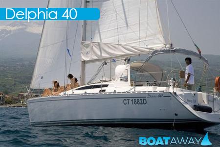 Delphia 40 a Riposto in Sicilia