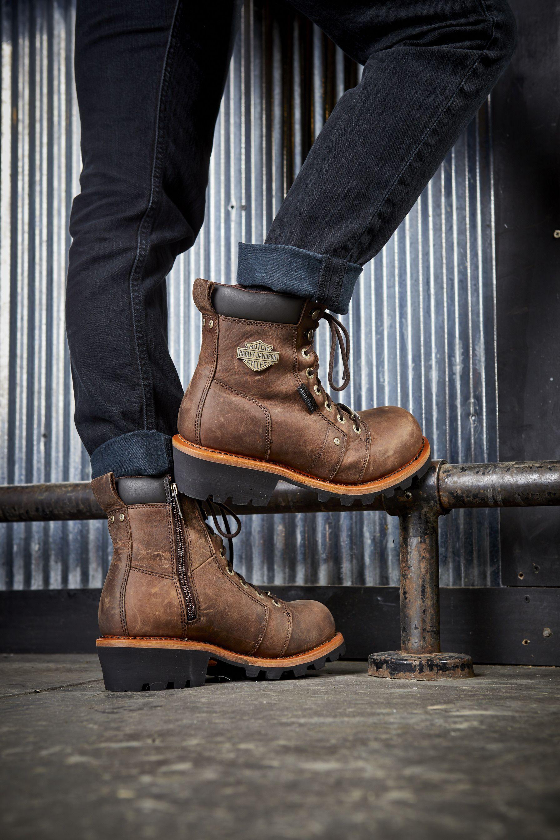 19b3369c7 Men's Landale Boot | Boots | Boots, Harley davidson dealership ...