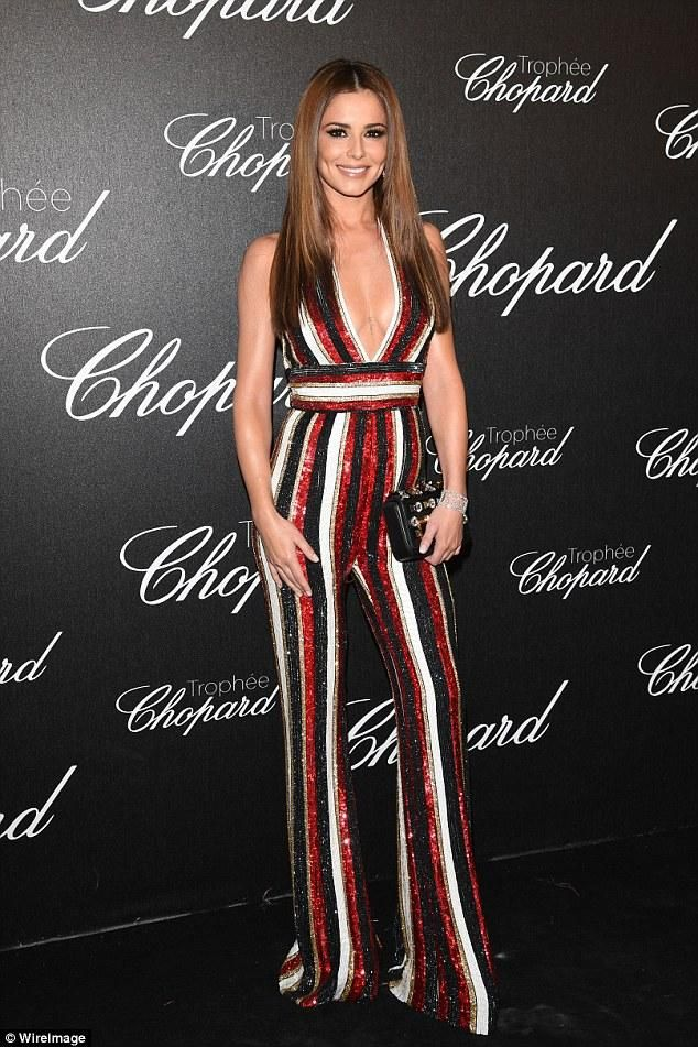Cheryl Cole Chopard Trophy Ceremony May 12 2016 Fashion Cheryl