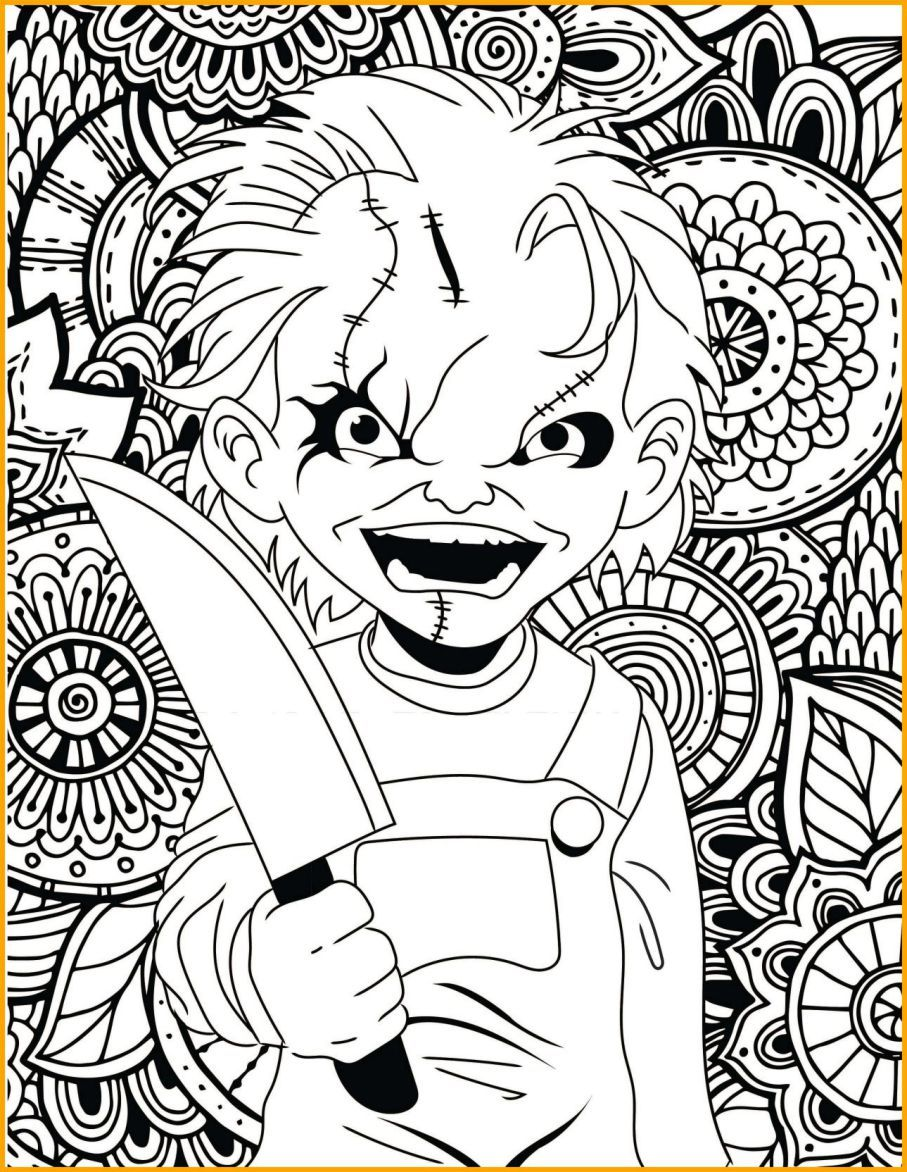 scary clown coloring pages Scary Clown Coloring Pages Printable  | color sheets | Coloring  scary clown coloring pages