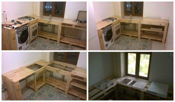 15 id es g niales de recyclage de palettes pour votre cuisine la 12 fallait y penser. Black Bedroom Furniture Sets. Home Design Ideas