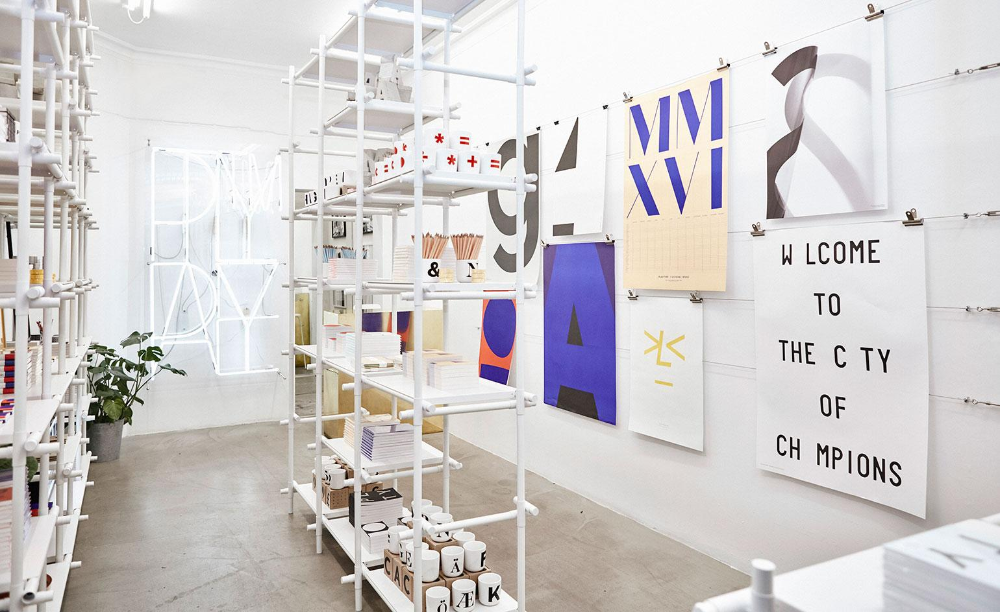 Bold Buys Playtype Pops Up In London S Aram Store Event Space Design Store Design Danish Design Store