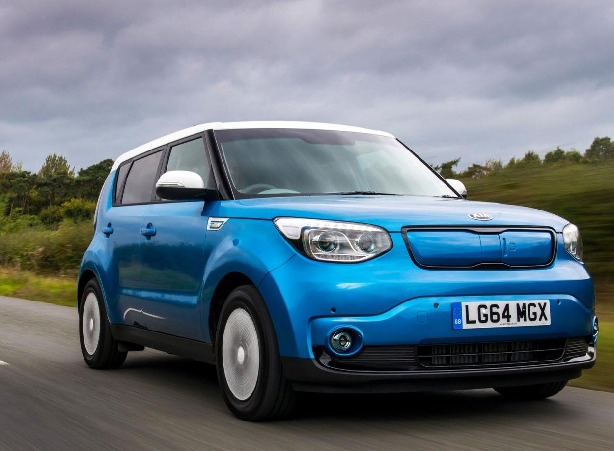 The Kia Soul EV Go Electric