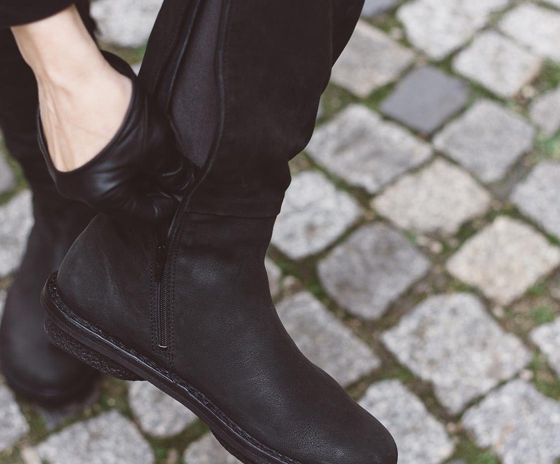 Trippen Tall f schwarz | Trippen schuhe, Neue schuhe, Schuhe