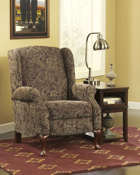 Nadior Wing Backed Recliner But Looks Like A Chair High