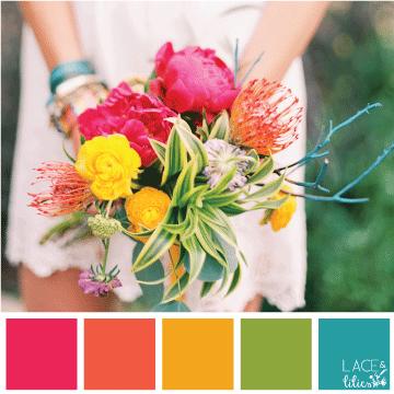 Wedding Flower Color Schemes