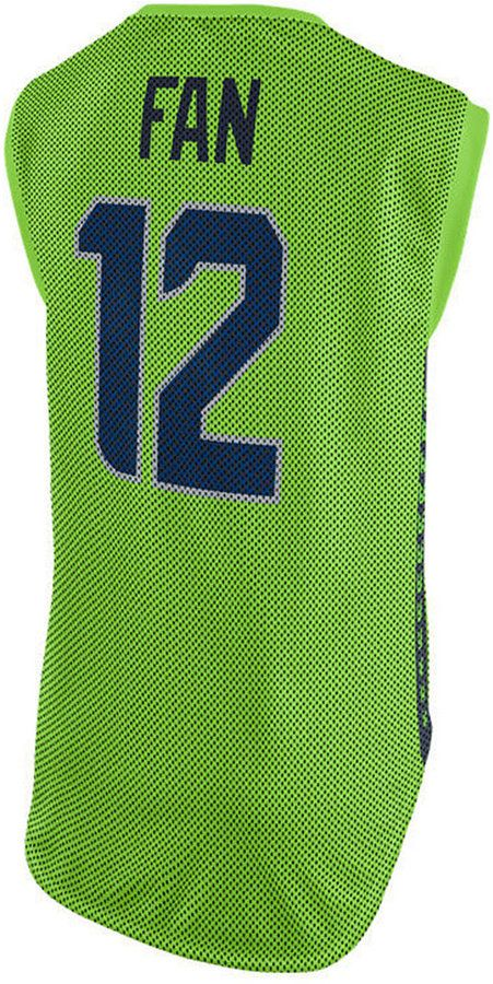 262af67d584 Nike Women s Seattle Seahawks Color Rush Sleeveless Player Jersey ...