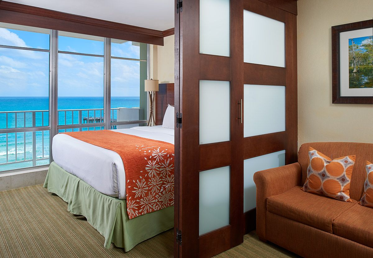 Nothing Like A Room With A View One Bedroom Suite Ocean Front Newport Hotel Beachside Resort Miami Beach Hotels