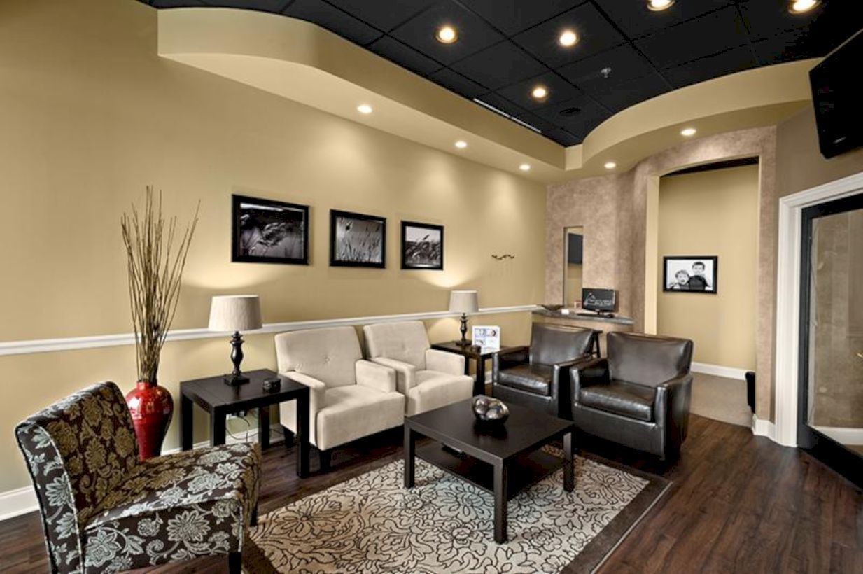 56 Stylish Dark Wood Floor Ideas for Your Living Room ...