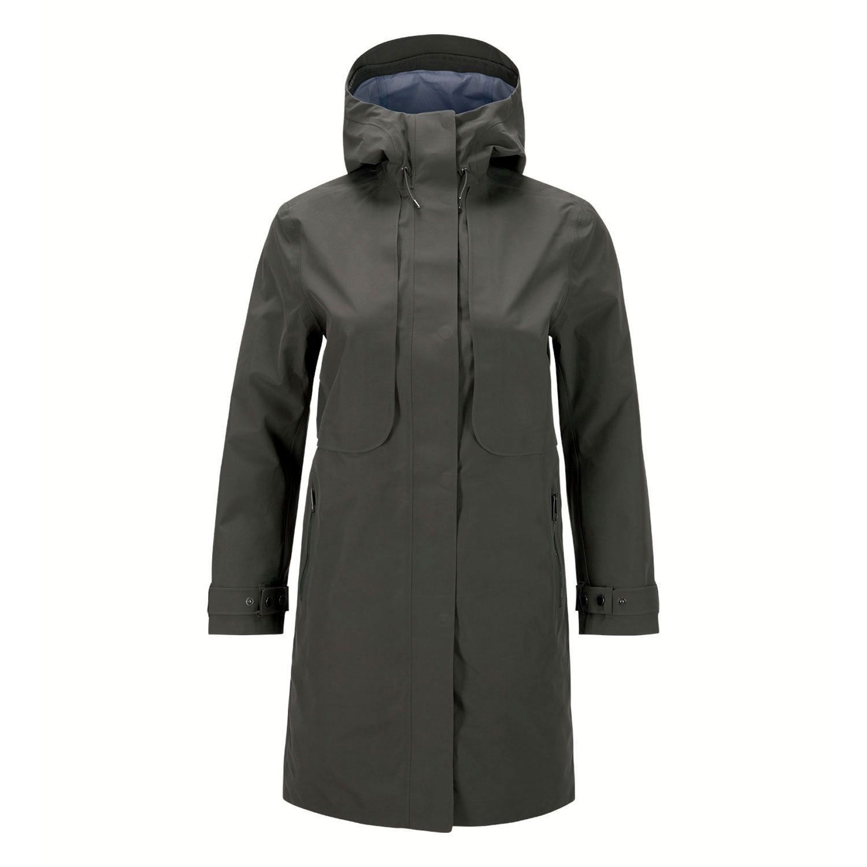 bacb964e7 Peak Performance Mist Coat Black Olive | winter wear | Rain jacket ...