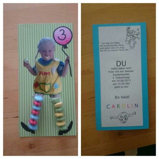 einladung kindergeburtstag - pippi langstrumpf | kindergeburtstag, Einladung
