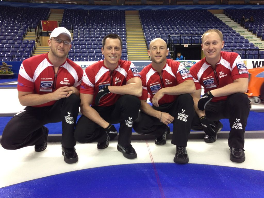 Brad Jacobs and Co ROCK it out qualifying for the Olympic