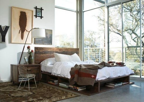 Barn Wood Bedroom Furniture | Reclaimed Wood Bedroom Furniture 2 450x318 Reclaimed Wood Bedroom