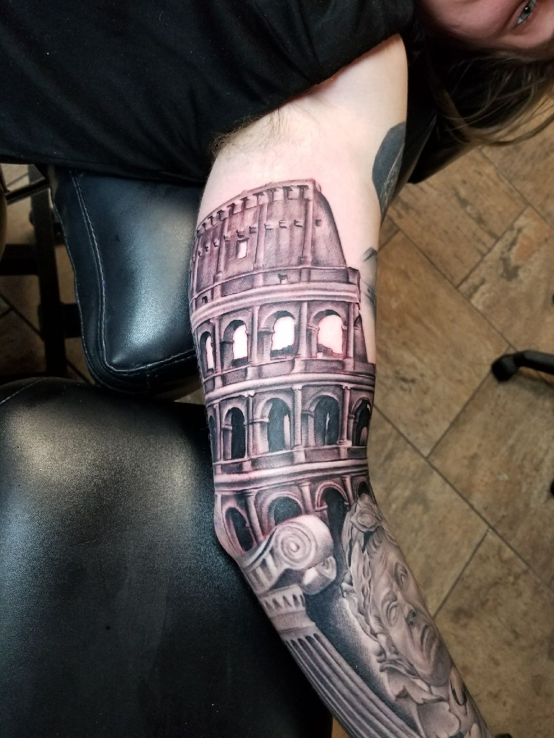Colosseum by casey privette infamous ink waco tx
