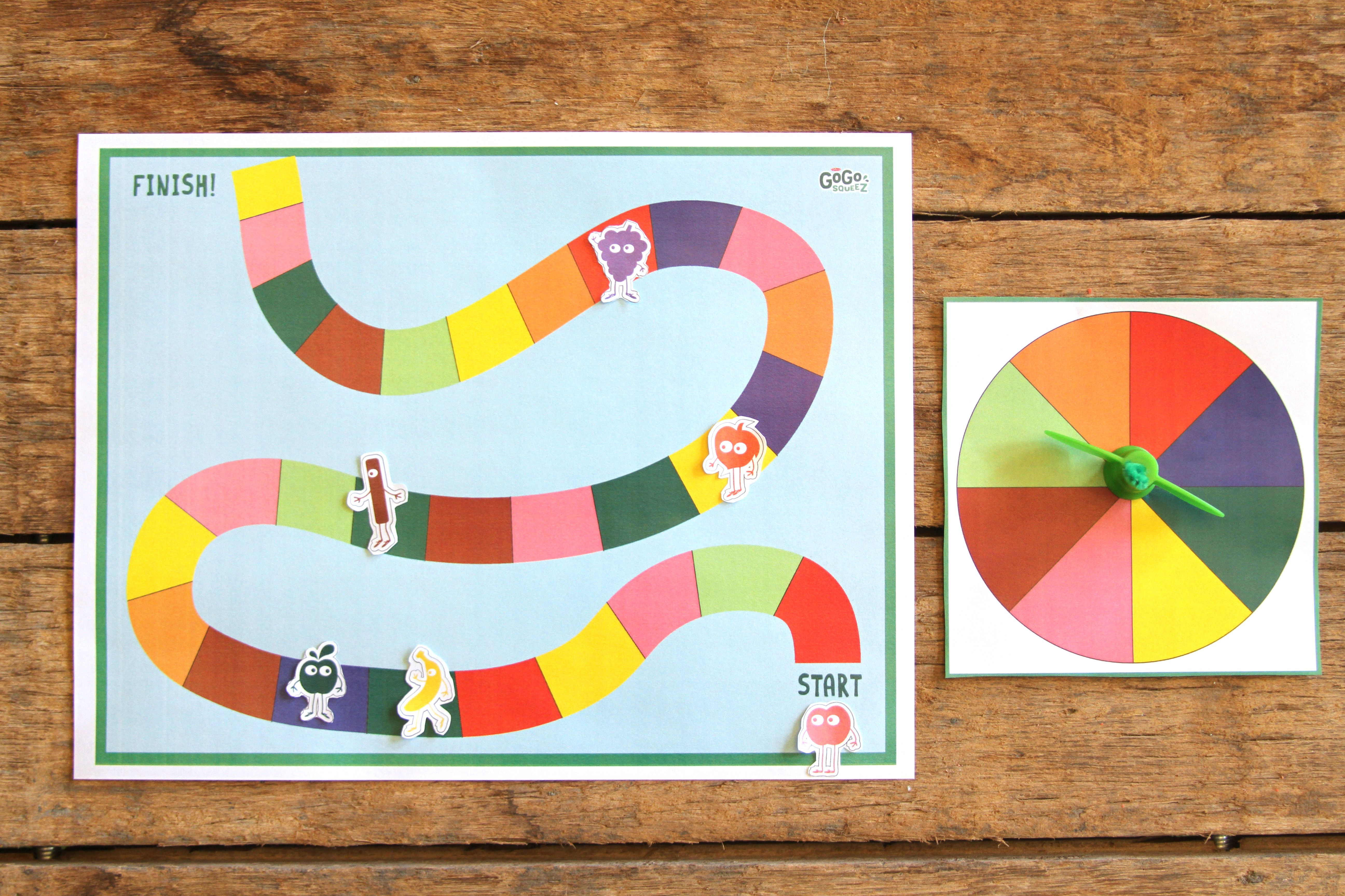 DIY Printable Board Game for Family Game Night (With