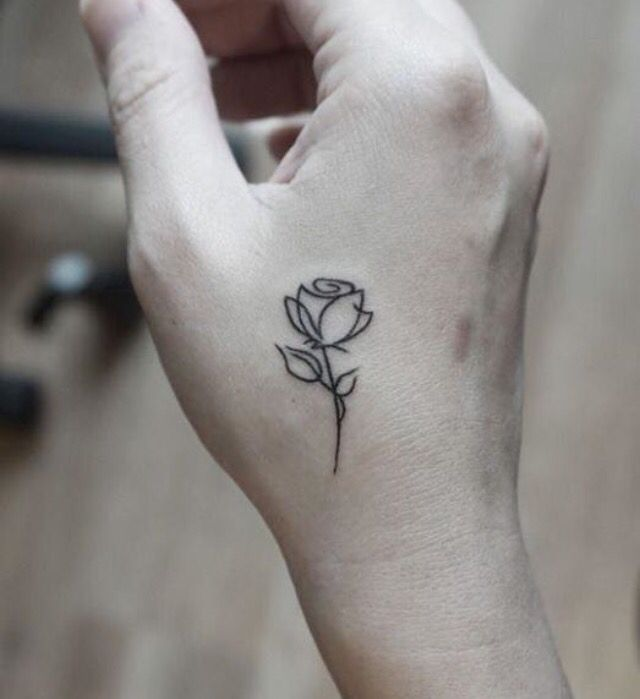 60 Simple Henna Tattoo Designs To Try At Least Once Tattoos Rose Outline Tattoo Matching Tattoos