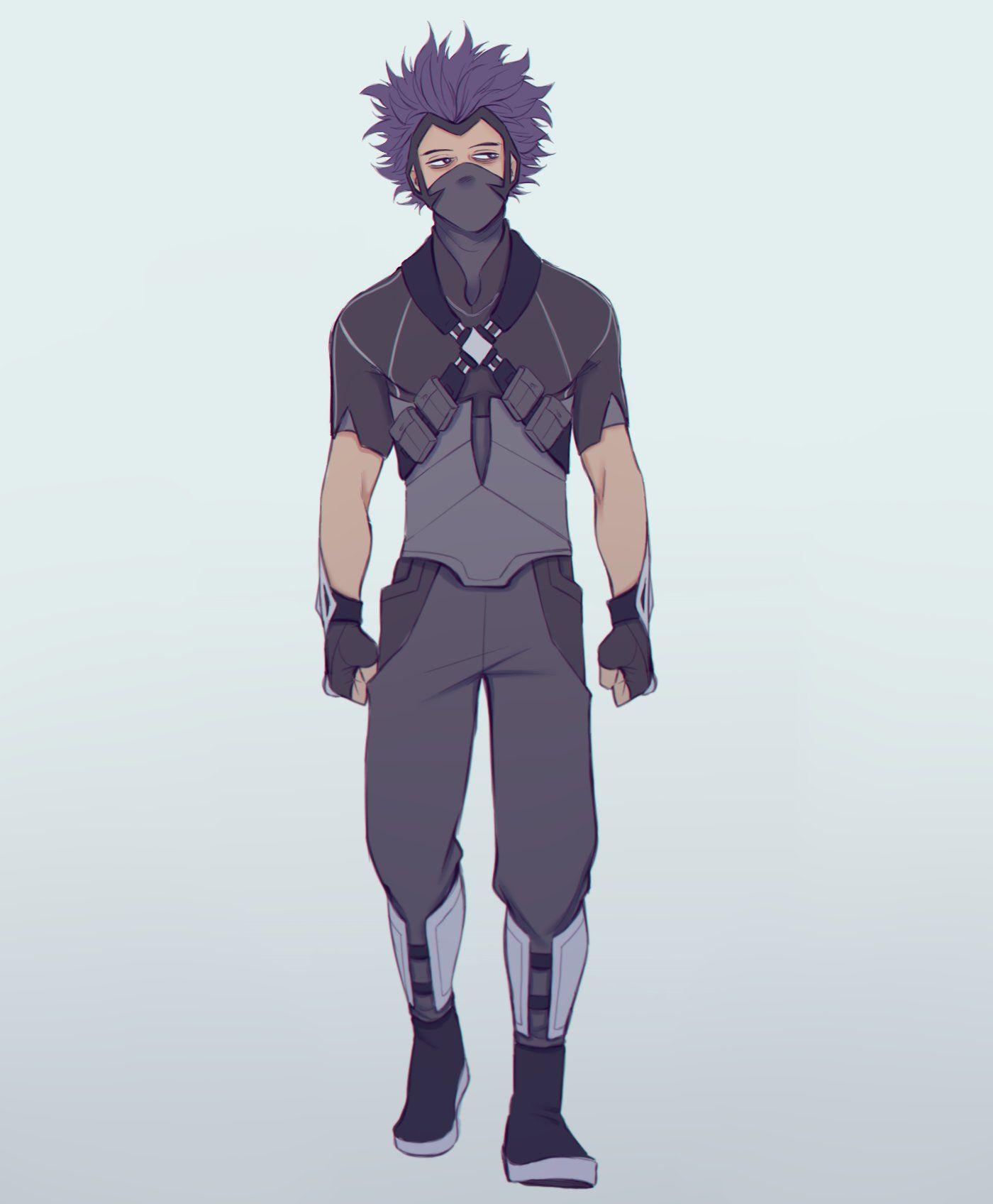 Kᴇɪɪᴅ On Twitter Shinsou S Hero Costume Design Hero Costumes My Hero Boku No Hero Academia