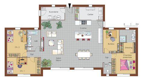 Maison bois Architecture, House and Construction