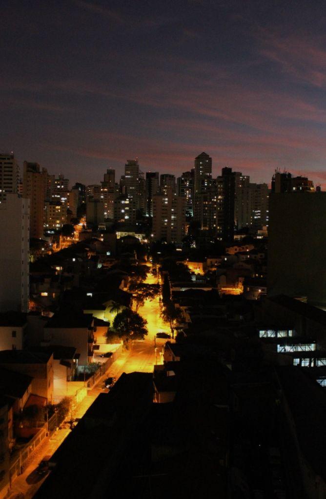 Vulcão urbano.