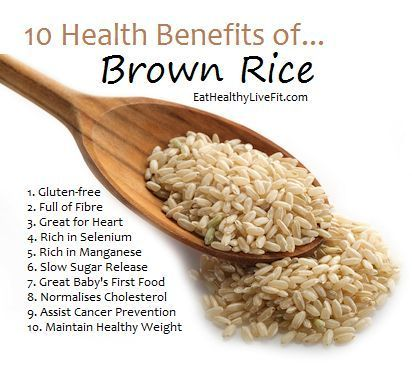 is brown rice on the nutrient diet