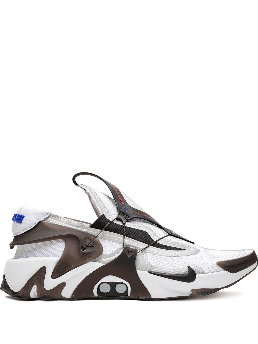 Nike Adapt Huarache Sneakers White Slip On Sneakers