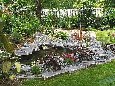 River rock landscaping ideas pictures design clivir for Rock ponds designs