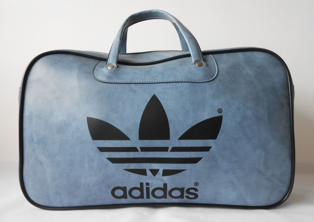 806f33d7c335 Vintage 70s Adidas Peter Black Northern Soul Sports Bag Holdall.   New-Deadstock   adidas  SportsBags
