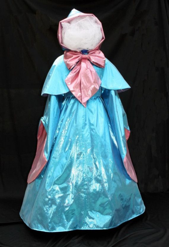 Cinderella S Fairy Godmother Costume Custom Child Sz Etsy In