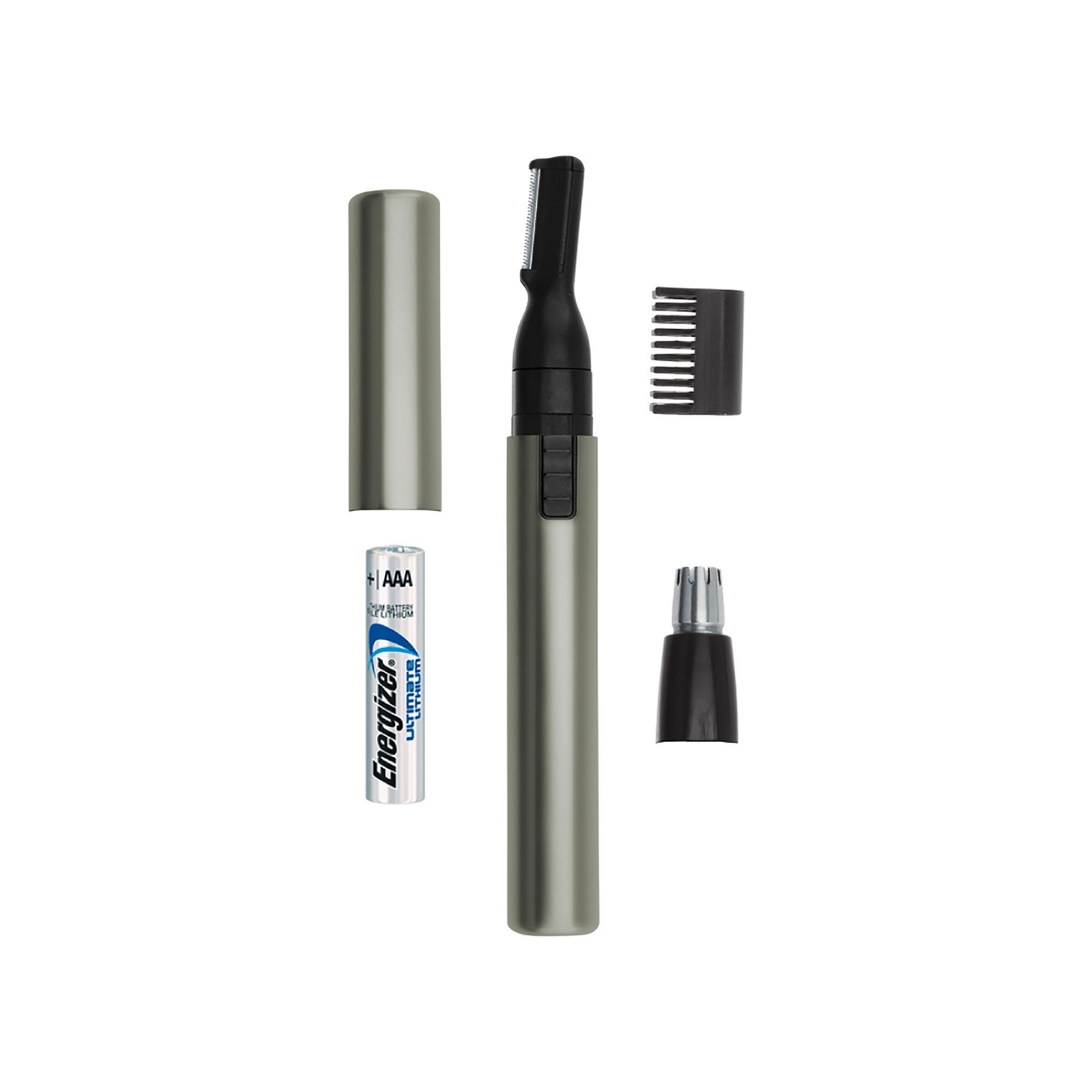 Wahl Lithium Micro Groomsman Trimmer Nose Hair Trimmer Brows