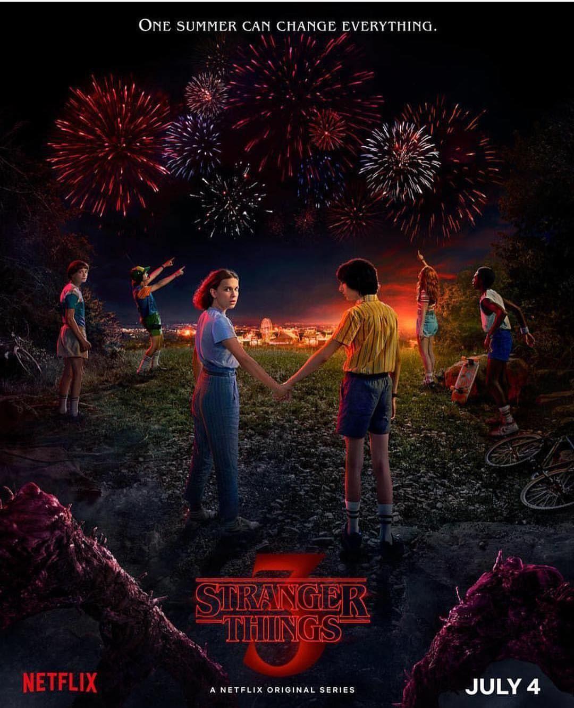 Stranger Things 3 Poster Season 3 Eleven Mike Lucas Dustin