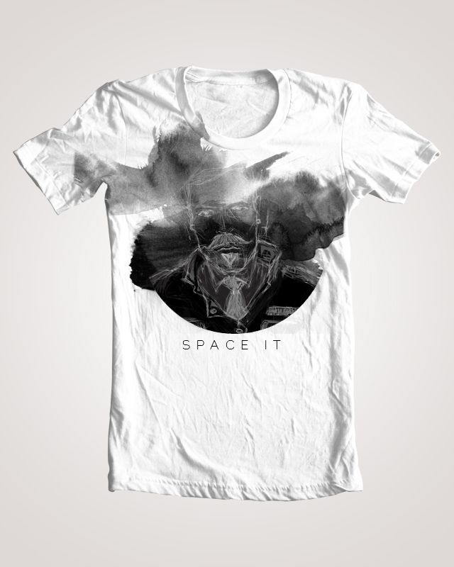 SPACE IT Tee    By sEBztian...  more at sebztians.tumblr.com