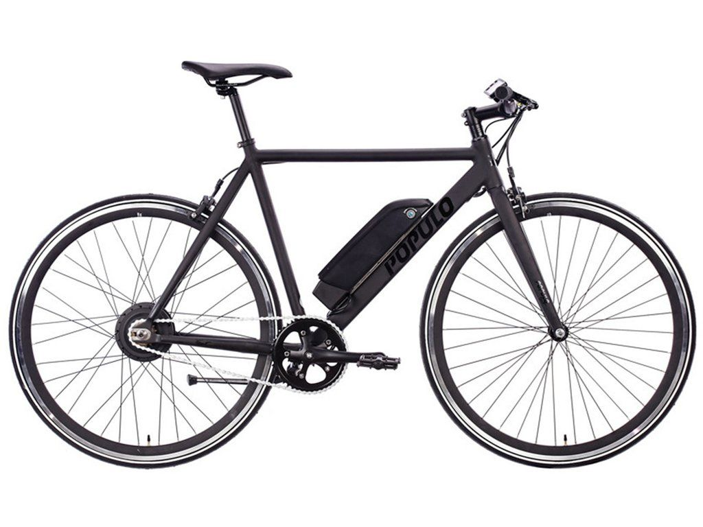 Populo Sport Electric Bike Black Now Available At Www Overspeedfixies Co Uk