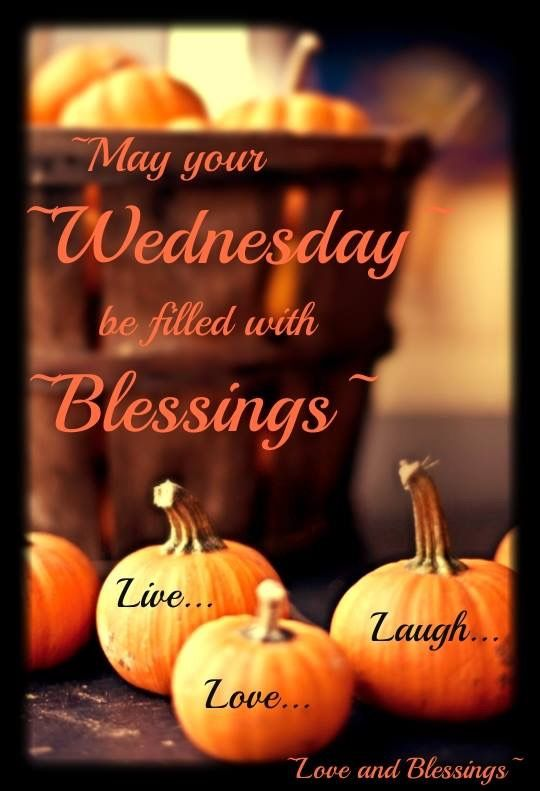 Have A Blessed Wednesday Monday Through Friday Wednesday