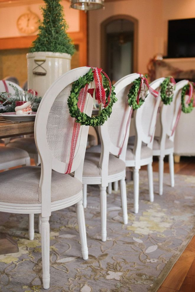 Interior Design Ideas Christmas Decorations Christmas Chair Christmas Interiors