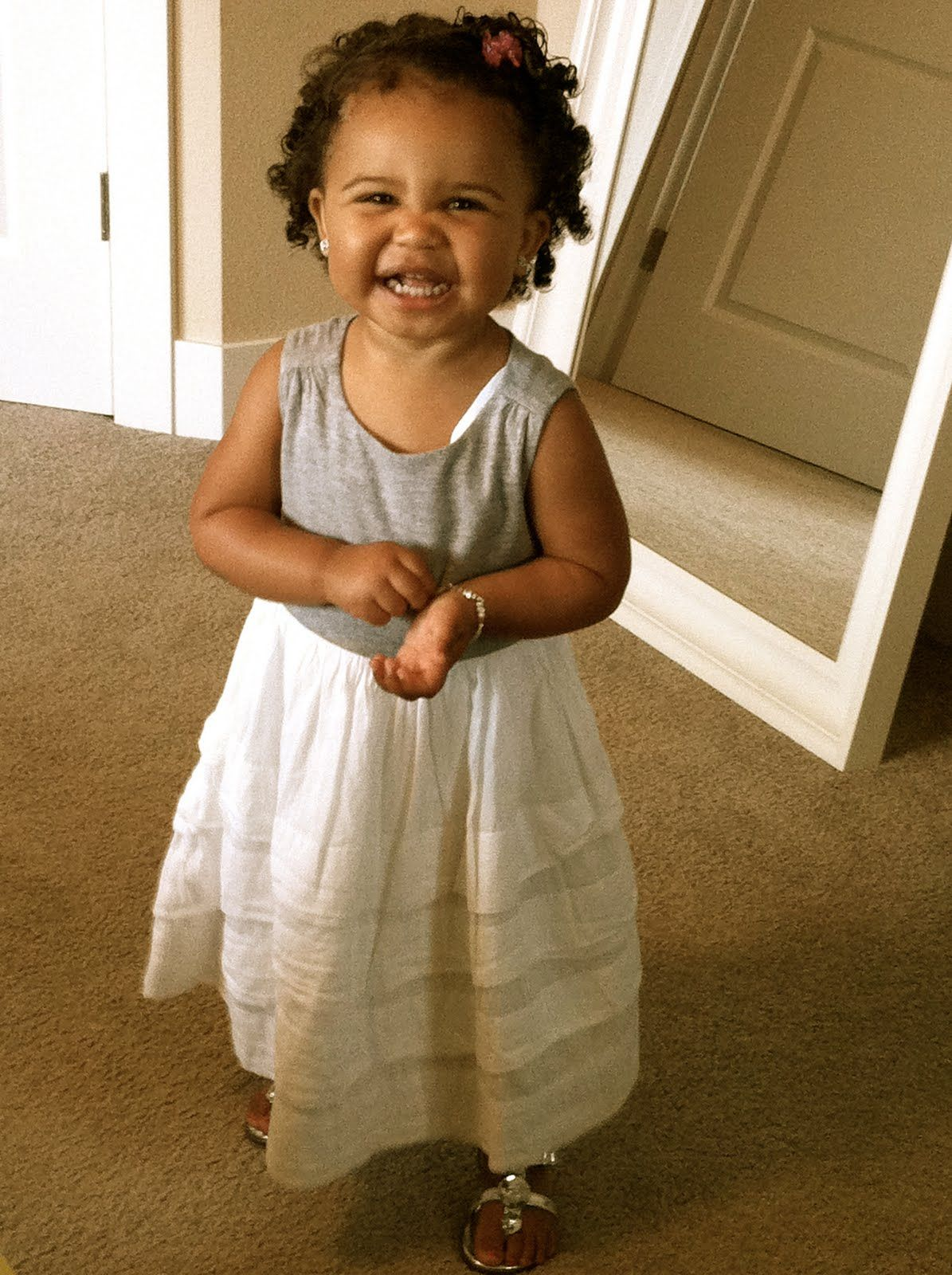 cute mixed baby girls with curly hair baby girl hairstyle jpg | НЕ