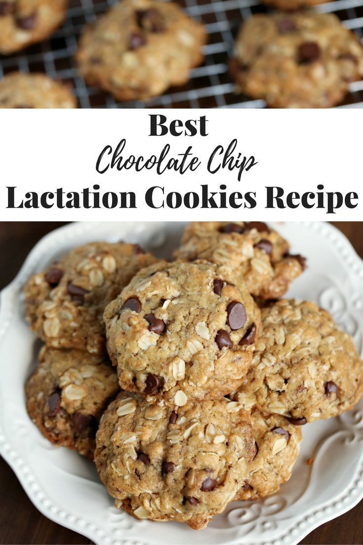 If You Are Looking For A Yummy Chocolate Chip Lactation Cookie Recipe You Are Lactation Cookies Recipe Cookie Recipes Lactation Cookies