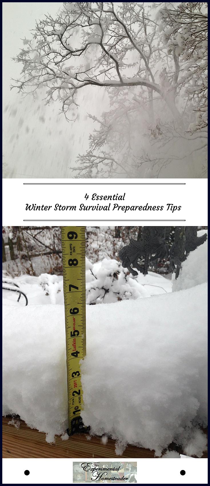 4 Essential Winter Storm Survival Preparedness Tips #wintersurvivalsupplies 4 Essential Winter Storm Survival Preparedness Tips, #essential #Preparedness #snowwinterstorm #STORM #Survival #Tips #Winter #winterstormpreparednessathome