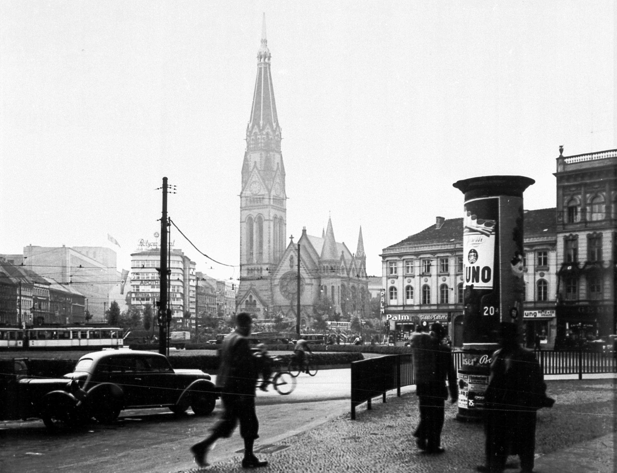 Links Hinten Statistisches Reichsamt 1935 Berlin Alexanderplatz Minolhaus Georgenkirche Berlin Verwaltungsgebaude Gebaude