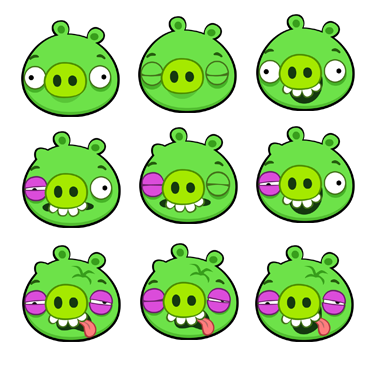Large Pig Angry Birds Star Wars Angry Birds Small Pigs