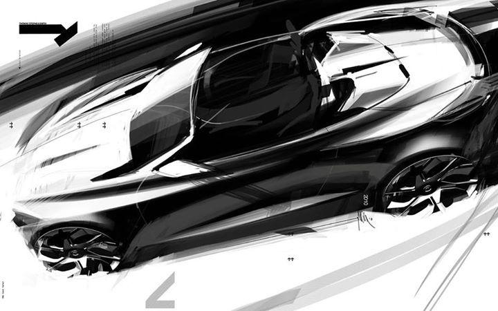 Pingl par stef bocher sur sketches esquisse dessin et voiture - Croquis voiture ...