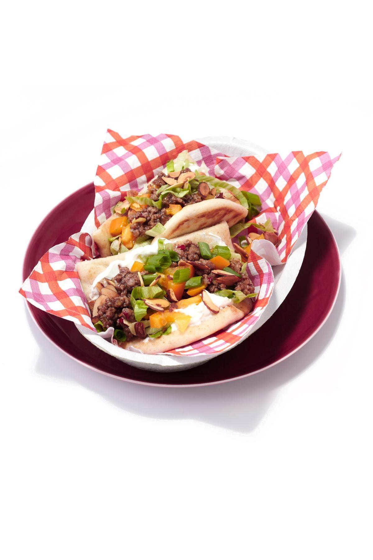 "Curry Turkey Naan Bread ""Tacos"" Recipe Naan, Naan"
